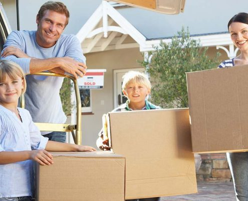 Moving Into Your New Home with Children